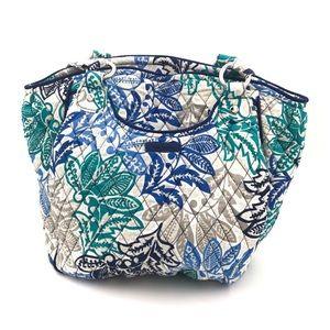 Vera Bradley Glenna Bag Santiago Blue NWOT New HTF